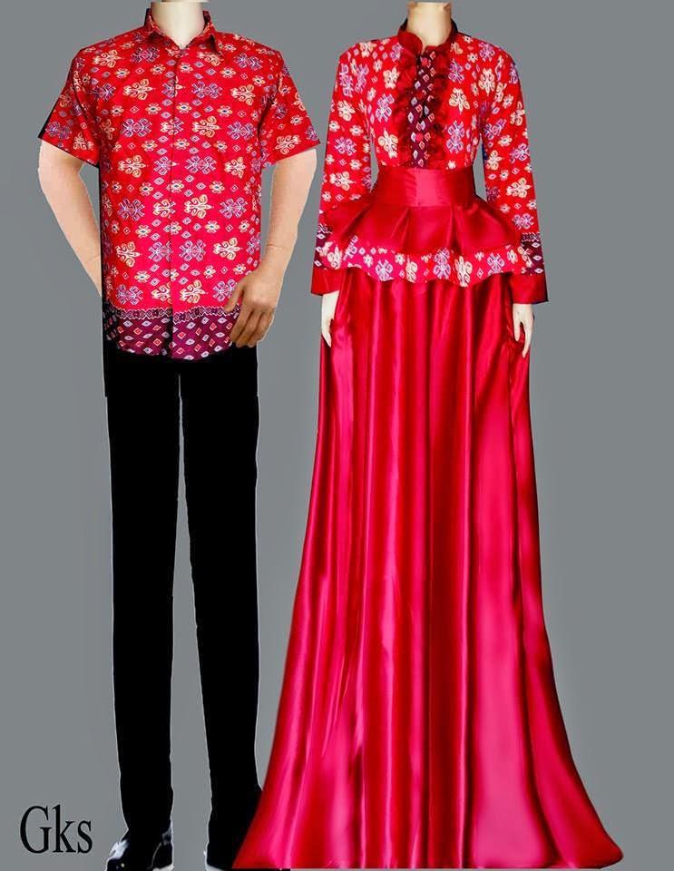 Model Baju Batik Gamis Jual Batik Sarimbit Gks