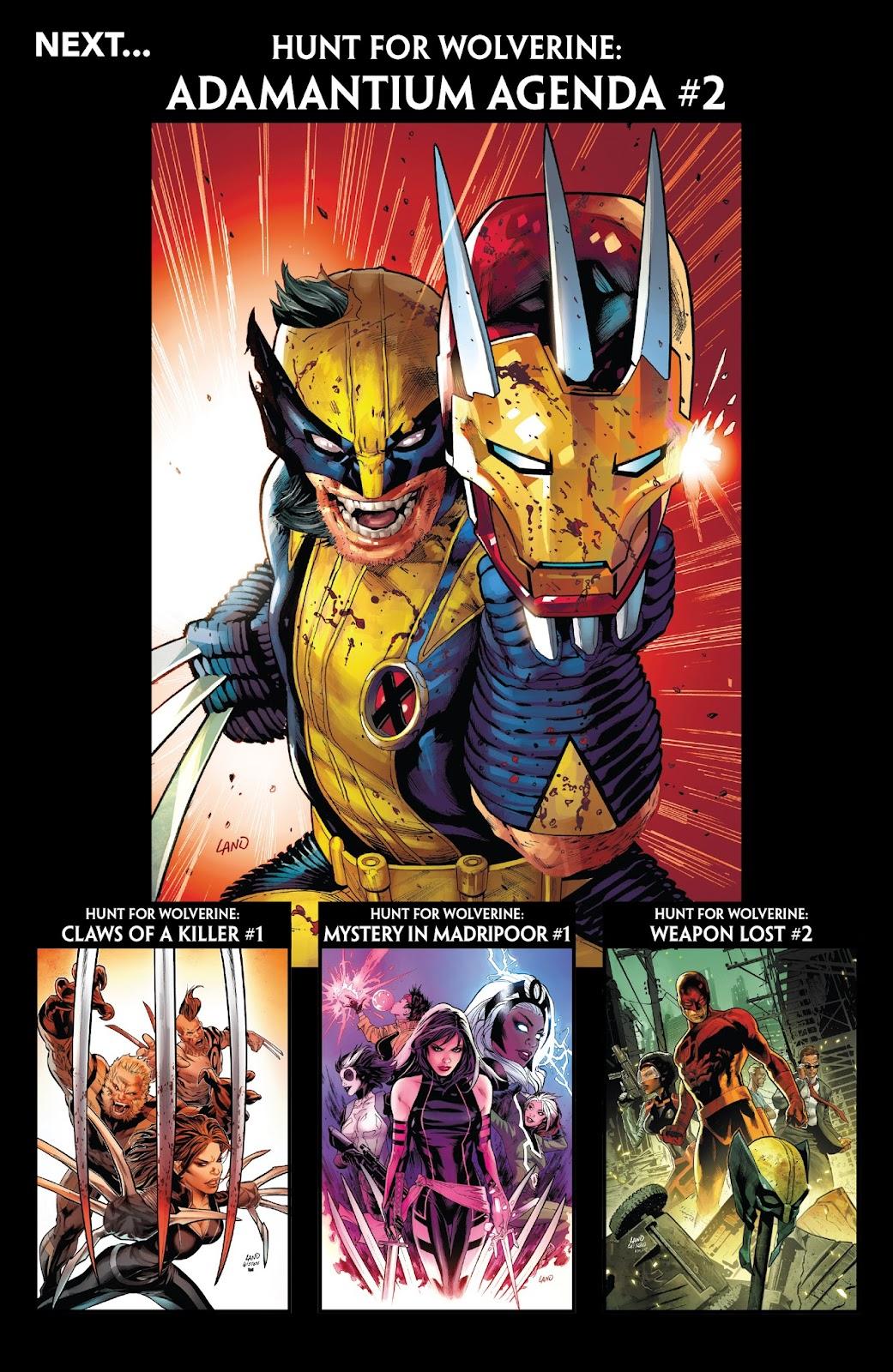 Hunt for Wolverine: Adamantium Agenda  1 Page 21