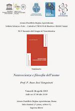 Neuroscienza e filosofia dell'uomo