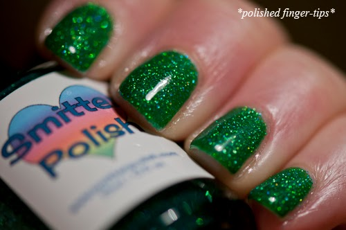Eleka Nahmen by Smitten Polish - artificial light