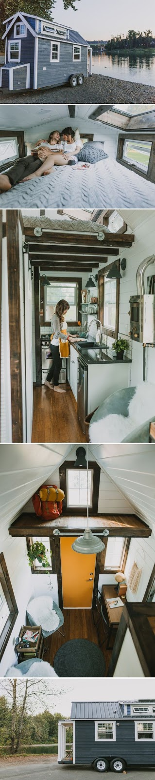 Tiny House on the move :: OrganizingMadeFun.com