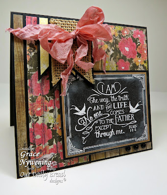 Our Daily Bread designs stamps, Chalkboard - Johns, Grace Nywening