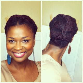 Pin-Up Twist UpDos