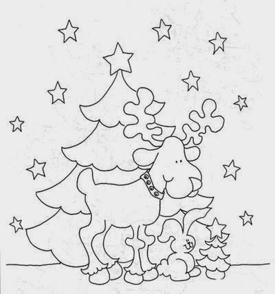 Moldes para artesanatos com tema natalino