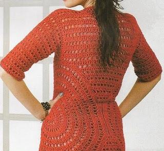 Saco Circular de Crochet