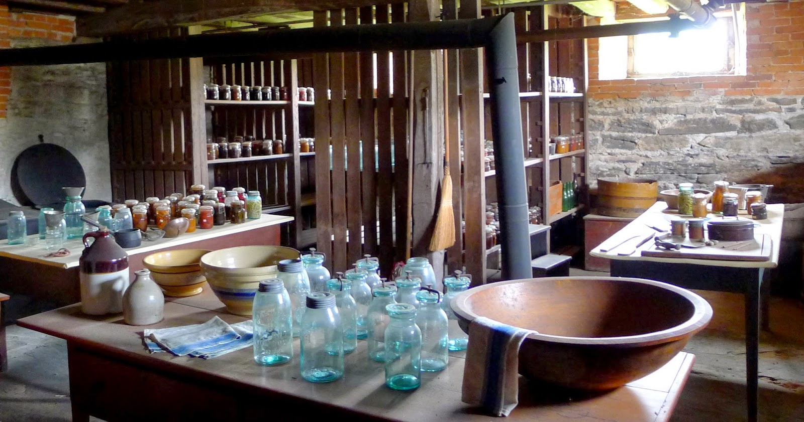 Hancock Shaker Village Kitchen