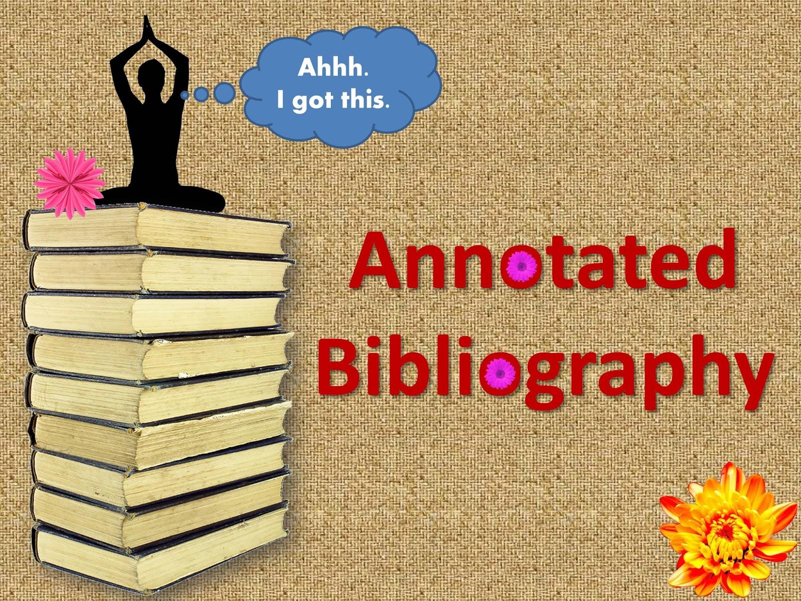 Get Annotated Bibliography Written