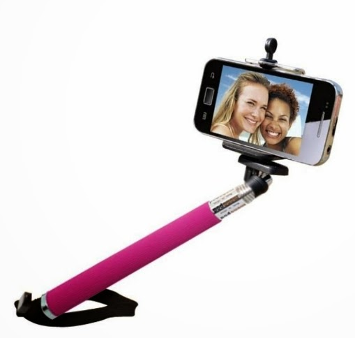 Tongsis Monopod Z07-1 Holder U + ASHUTB Bluetooth 3.0 Remote Shutter for iOS dan Android