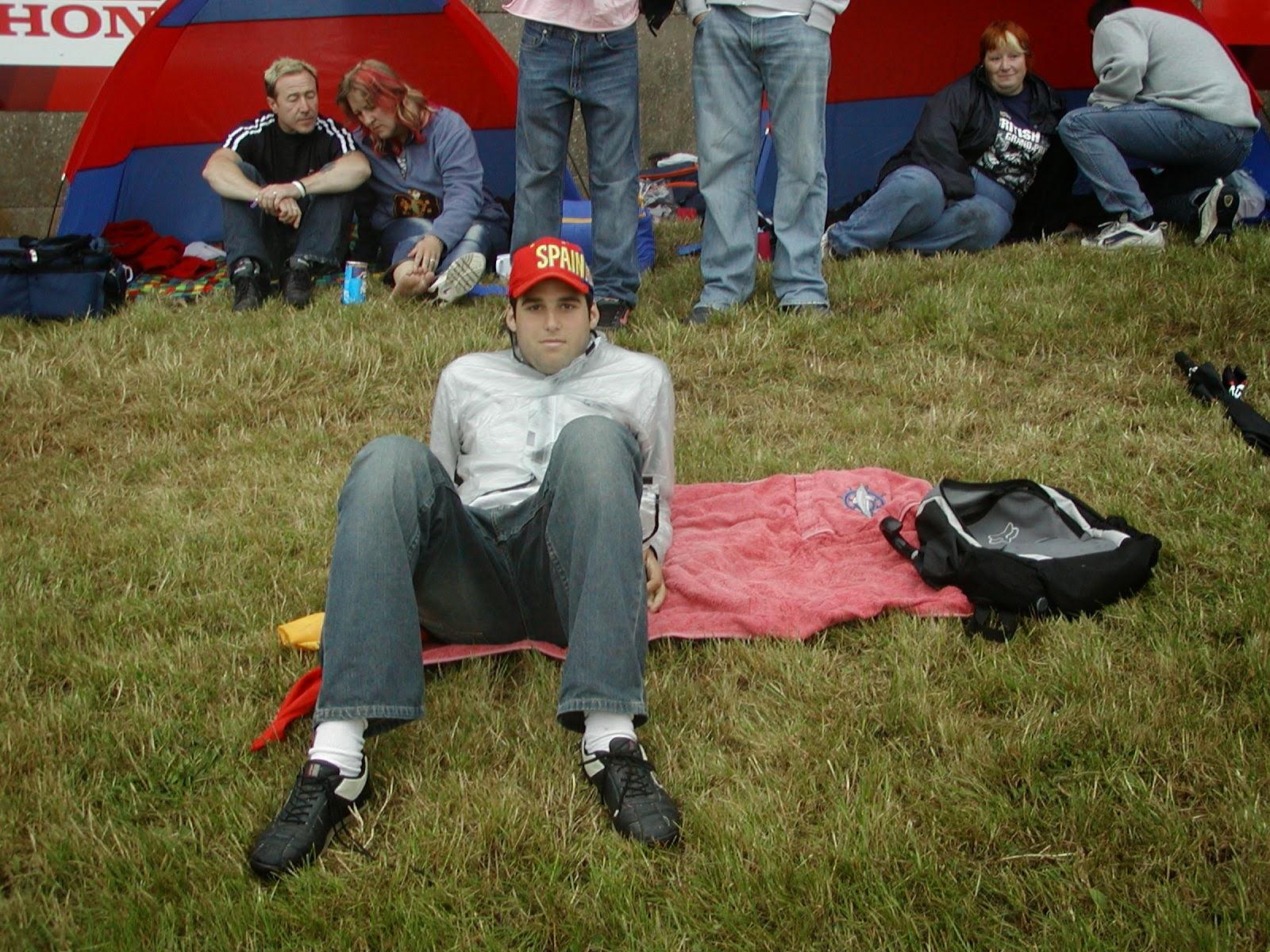 Gradas del circuito de Donington Park