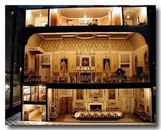 La piccola casa antica in miniatura storia breve delle for La regina anne casa