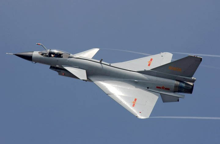 J 10 Chinese Militery Fighter Aircraft ~ lets do weird