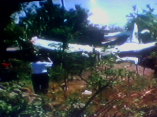 gambar Pesawat Ceska milik BIFA jatuh di buleleng