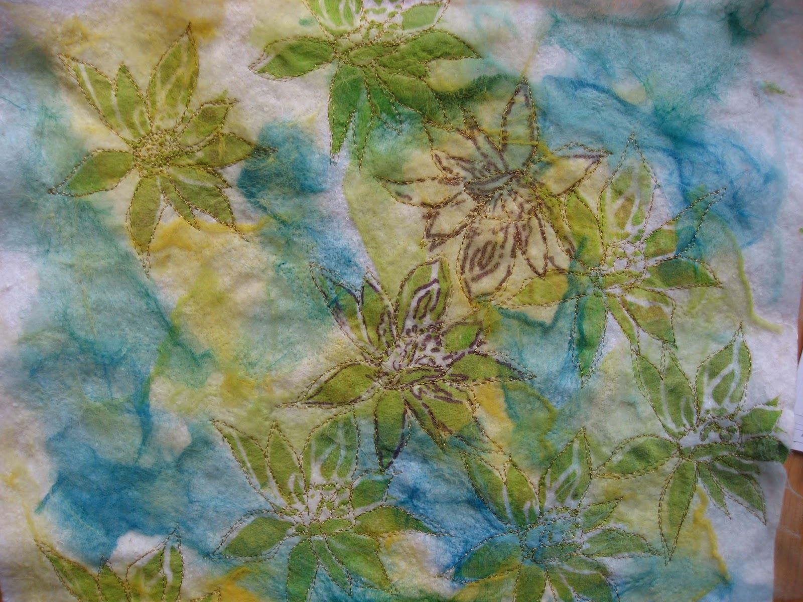 Nähmaschine Zieht Unterfaden Nicht = textile art forum filzlust  experimente mit der