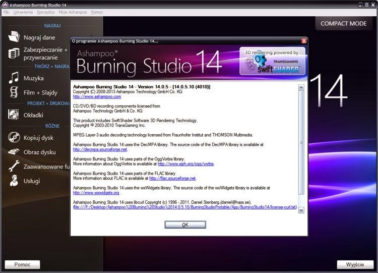 Ashampoo Burning Studio Version 14.0.5.10 Multi Portable PC Windows Torrent