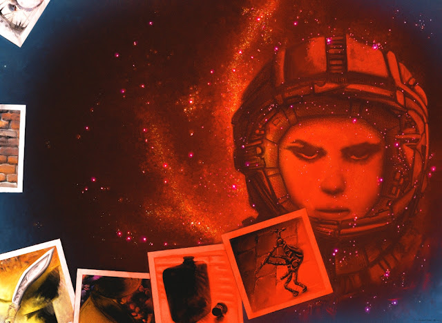 Snapshots From the Black Hole and Other Oddities book cover art by Chris Sumption