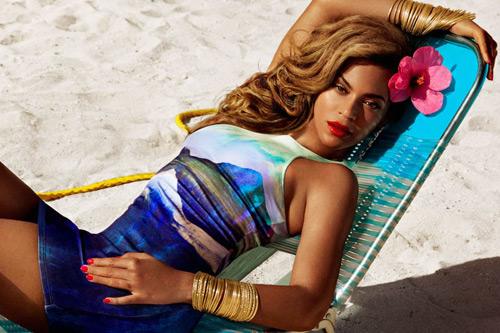H&M Beyoncé ropa de playa verano 2013