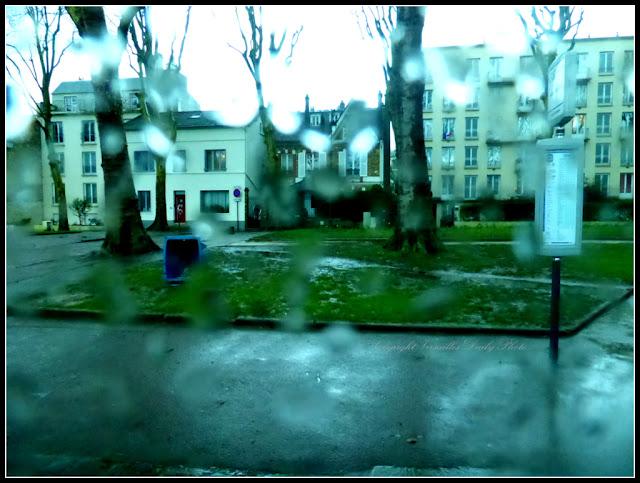 Rainy day in Versailles