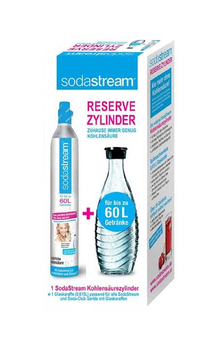 SodaStream Reservepack- 1 x CO2-Zylinder für 60L
