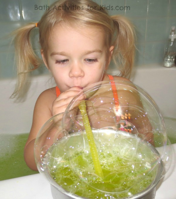 Bubble Bath Experiment for Kids