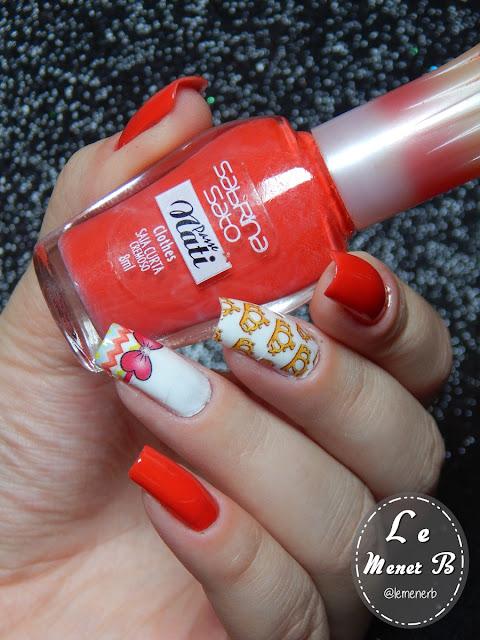 nail art coroa