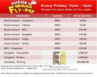 AirAsia Fabulous Fly-Day Friday