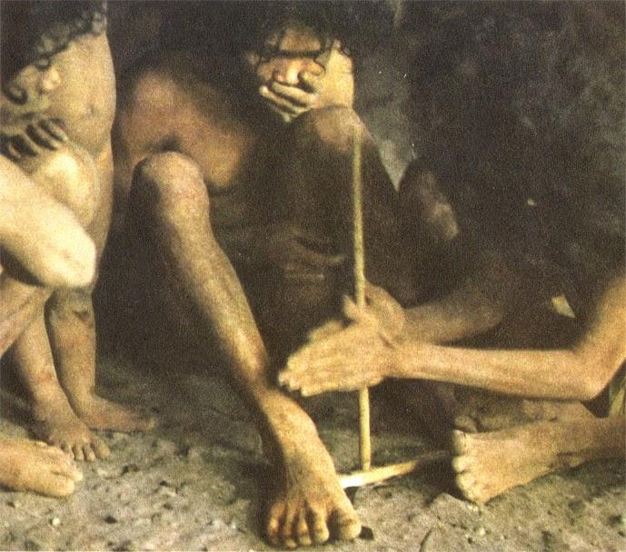 Первобытные люди и природа картинки