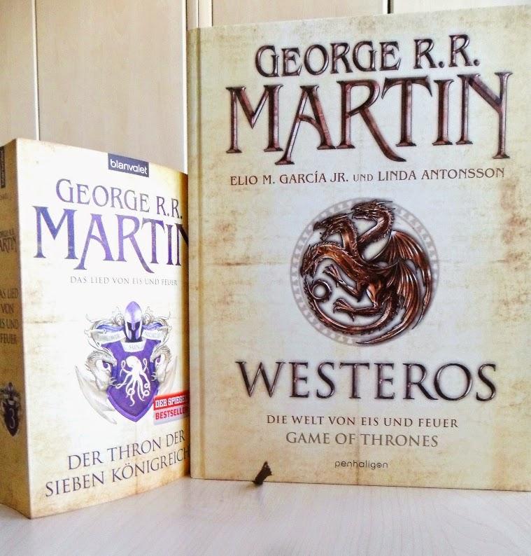 Groeßenvergleich des Buches Westeros