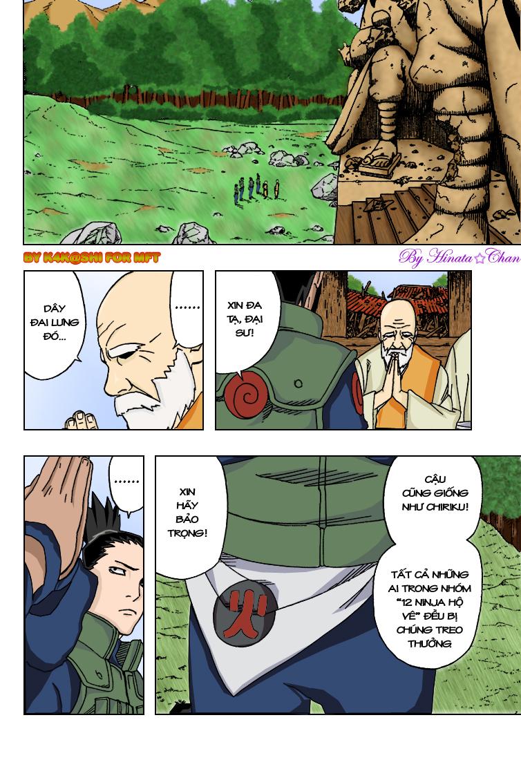 Naruto chap 320.Color Trang 8 - Mangak.info