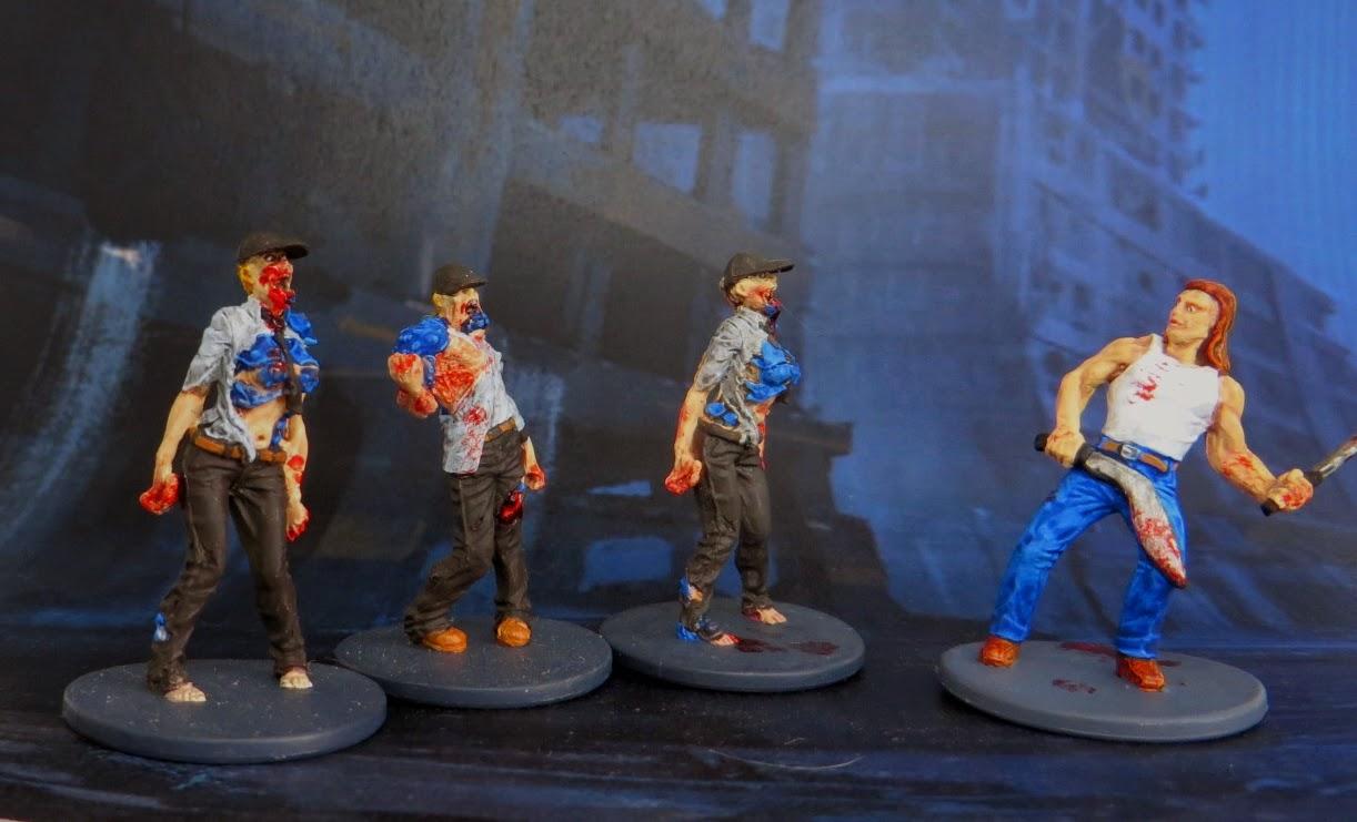 Zombie, Walker, Zombicide, Berserker, painted