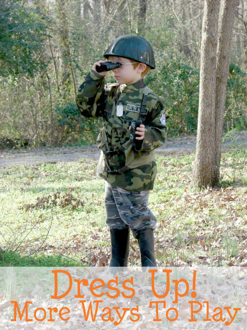 Ways to extend dress up play