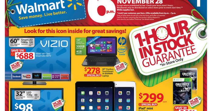 Walmart Black Friday 2013 Ad Black Friday Ads 2013
