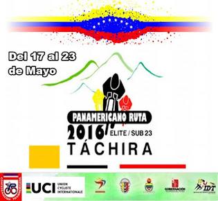 Campeonato Panamericano de ciclismo de Ruta 2016 del 18 al 22 de Mayo
