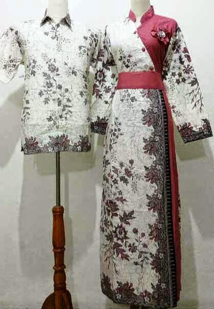 baju batik kantoran muslimah