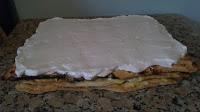 tarta de hojaldre y merengue
