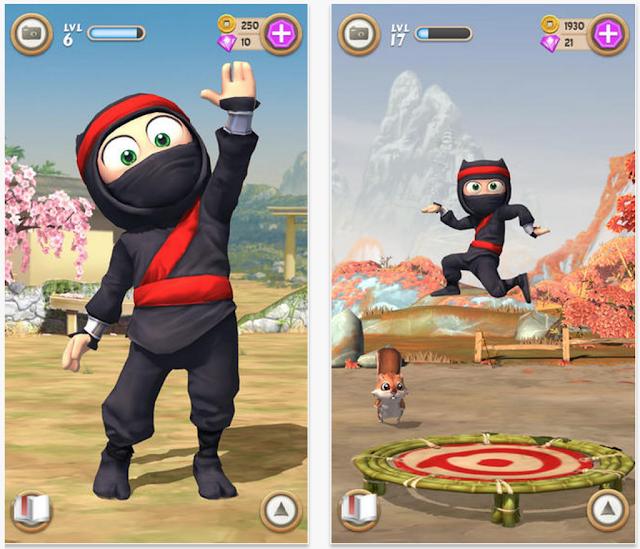 Clumsy Ninja v1.16.0 Apk + Datos SD Mod [Dinero]