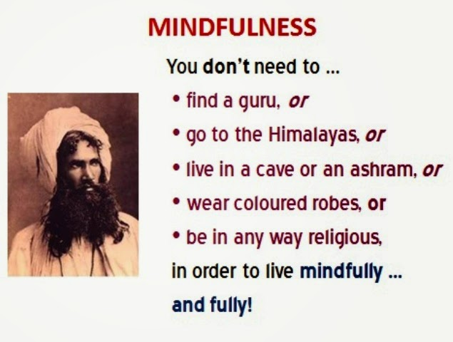 MINDFULNESS ... AND RELIGION