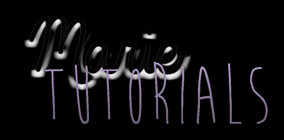 Marie Tutorials | Personaliza tú blog