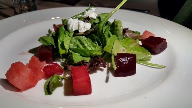 Watermelon and Beet Salad