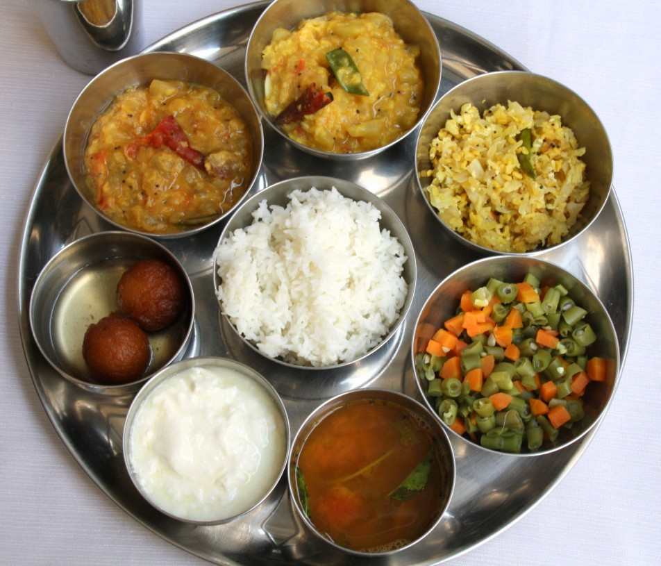 Tinda kootu tinda curry south indian thali south indian thali forumfinder Choice Image