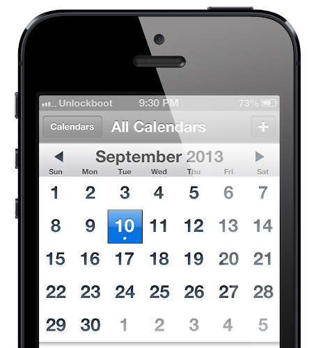 iPhone 5S 2013 Launch date