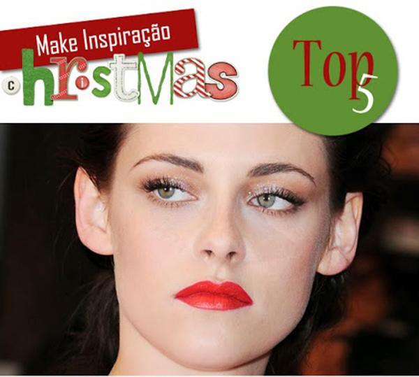 maquiagens com batom vermelho para usar no natal make makeup beleza top 5 famosas