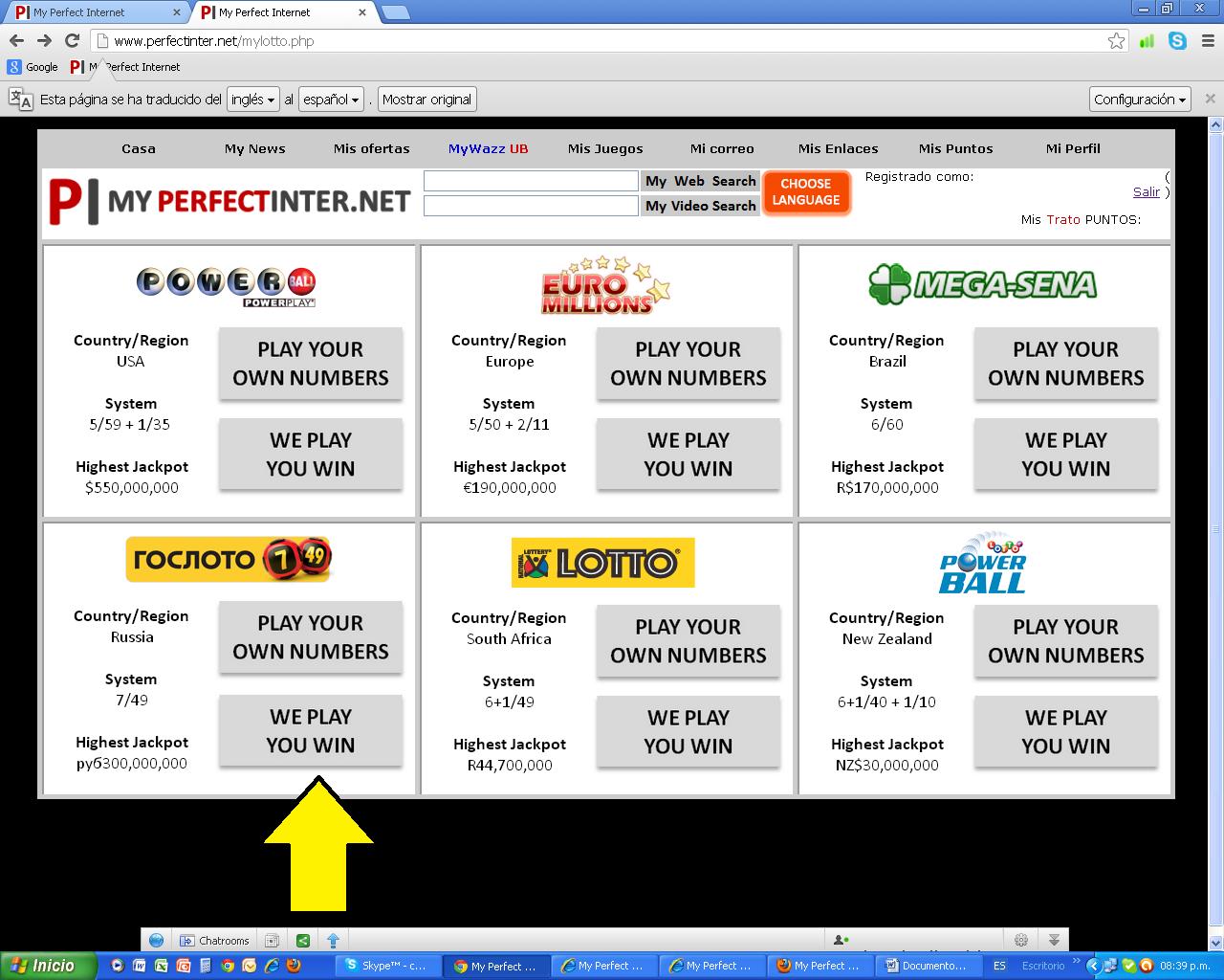 loterias mundiales: