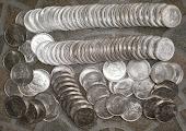 Uang koin 2,5G WILHELMINA 1943 (LANGKA)