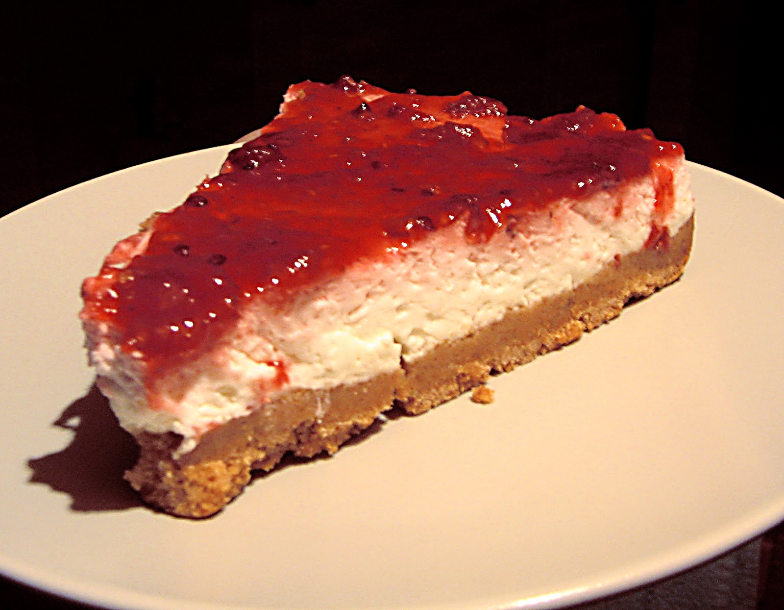 Τσιζ Κέικ Φράουλα