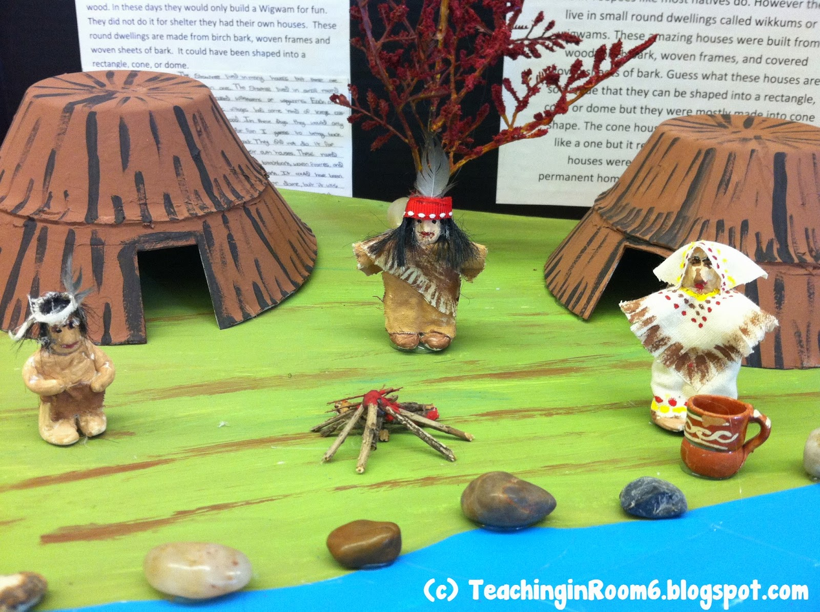 This no prep Native American Research project can be assigned to students grades 3-6.