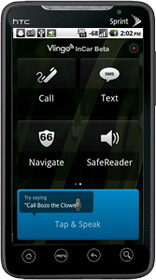 Vlingo InCar for Android available for download worldwide