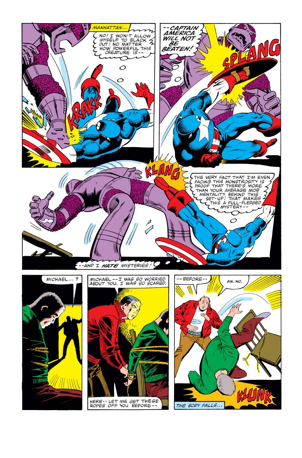 Captain America (1968) Issue #270 #186 - English 21