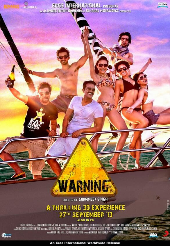 Watch Warning 3D (2013) Hindi HD DVDRip Full Movie MP3 Sterio Audio Watch Online For Free Download