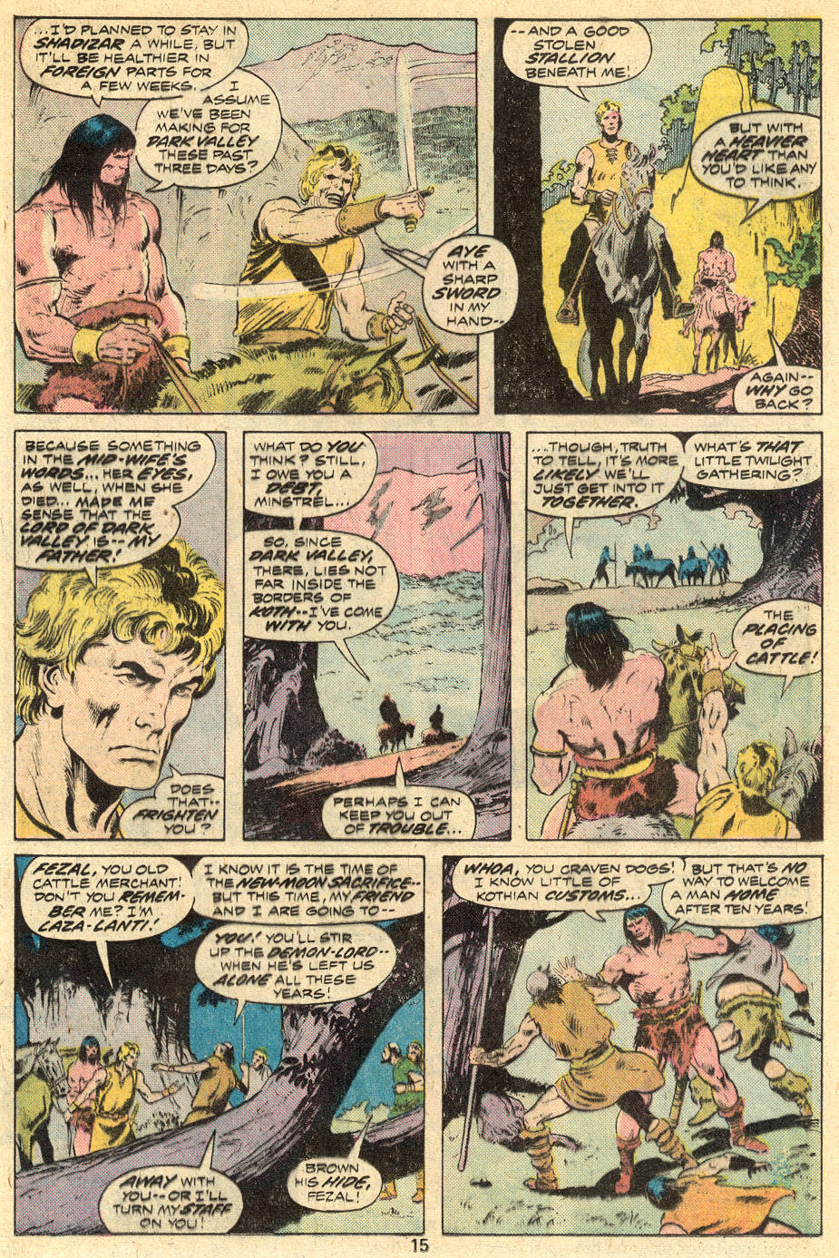 Conan the Barbarian (1970) Issue #45 #57 - English 10