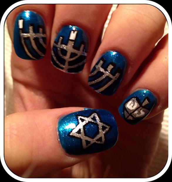 nailed daily day 20 - hanukkah